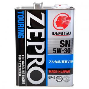 Масло моторное Idemitsu ZEPRO TOURING 5W-30 синт. API SN/GF-5 4л
