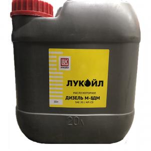 Масло моторное Лукойл Дизель  М-8ДМ 20W API CD18л