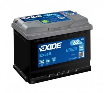 Аккумулятор EXIDE EXCELL EB620 62ah о/п