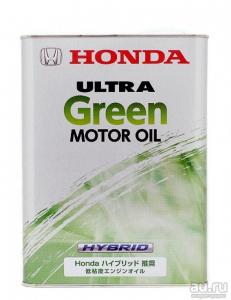 Масло моторное Honda Ultra Green 0W-16 синт. API SN 4л