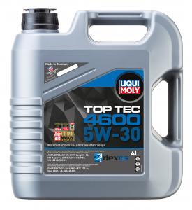 Масло моторное Liqui Moly Top Tec 4600 5W-30 синт. API SN 4л