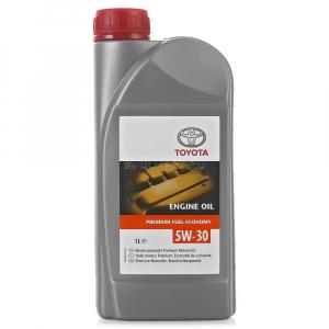 Масло моторное Toyota Motor Oil 5W-30 PFE синт. API SN/GF-5 (пластик.тара) 1л