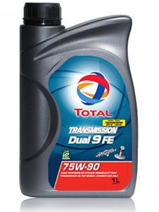 Масло трансмиссионное Total Transmission Dual 9 FE 75w90 (GL-4/5) синт. 1л