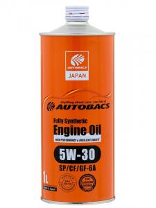 Масло моторное Autobacs Fully Synthetic 5W-30 синт. API SN/CF/GF-5 1л.