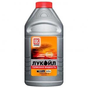 Жидкость тормозная Лукойл DOT-3  0,45л