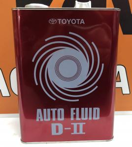 Масло трансмиссионное Toyota ATF Type D-II (DEXRON-II) минер. 4л