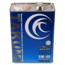 Масло моторное Takumi High Quality 5W-40 синт. API SM/CF 4л