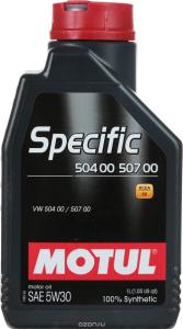 Масло моторное Motul Specific VW 504.00/507 5W-30 синт. 1л