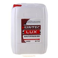 Антифриз Sintec Lux G12 (красный) 10 кг