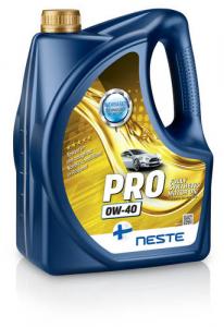 Масло моторное Neste Pro 0W-40 синт. API SN, SM, SL, SJ/CF 4л