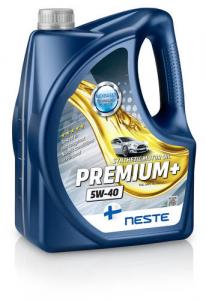 Масло моторное Neste Premium+ 5W-40 синт. API SM, SL, SJ/CF 4л