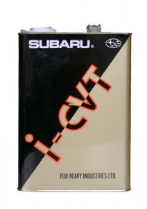 Масло трансмиссионное Subaru I-CVT для вариаторов синт. 4л