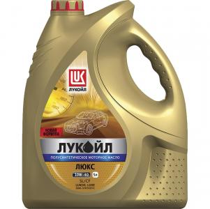 Масло моторное Лукойл Люкс 10W-40 п/синт. API SL/CF 5л