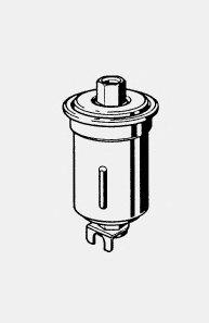 Фильтр топливный MAHLE KL 43