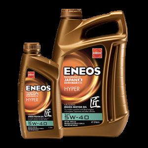 Масло моторное Eneos Hyper 5W-40 C3 синт. API SN 4л
