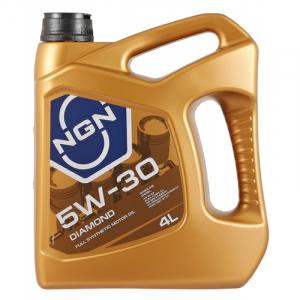 Масло моторное NGN DIAMOND 5W-30 синт. API SL/CF 4л