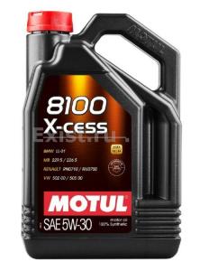 Масло моторное Motul 8100 Х-cess 5W-30 синт. API SL 5л